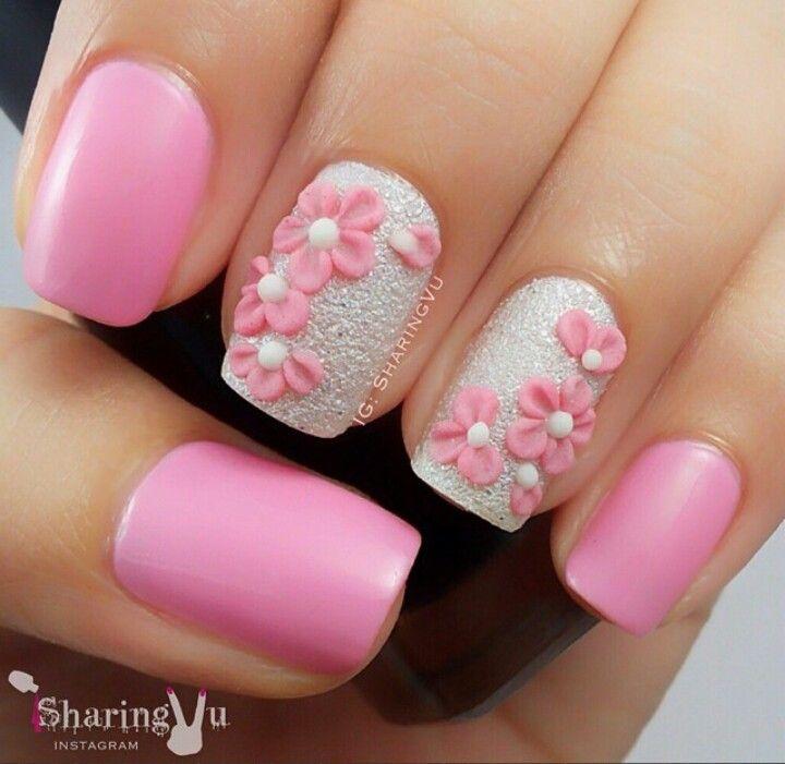 <3 <3 ADD diy www.customweddingprintables.com #customweddingprintables... Nails