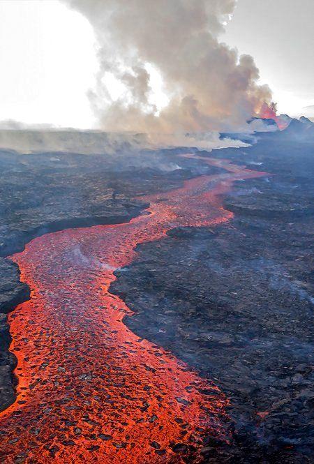 Holuhraun lava flow, Suður-Þingeyjarsýsla, Iceland | by Kirstin Grühn-Stauber
