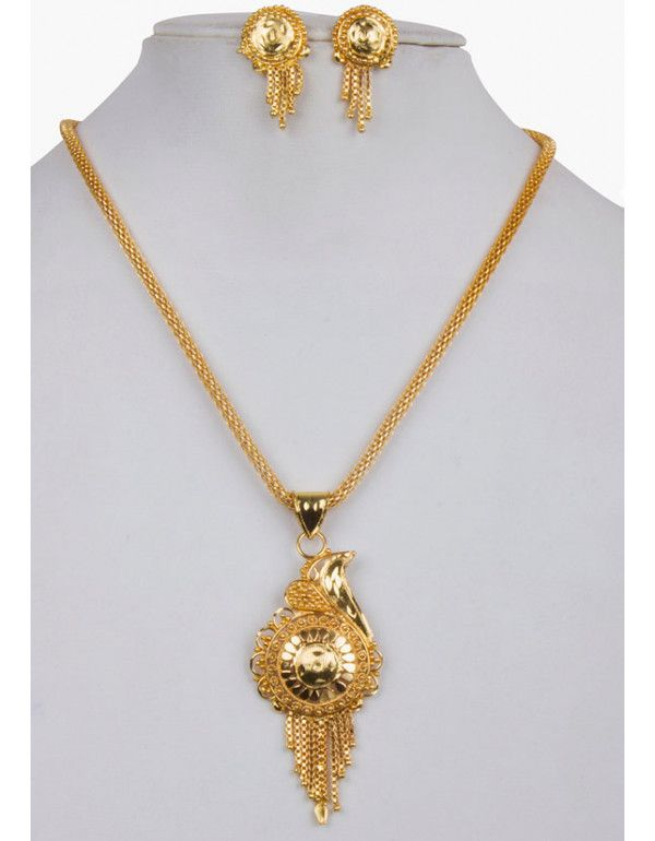 7f9f005b47308 Gold Plated Partywear Designer Necklace | Indian Jewelry in 2019 ...