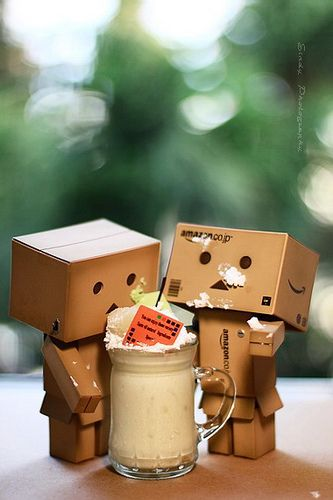 貪吃danbo by sⓘndy°, via Flickr