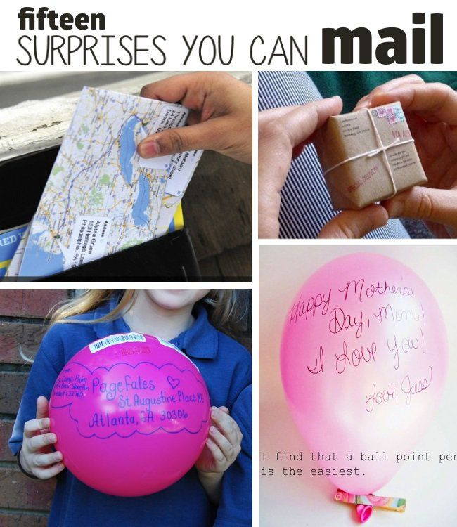Here's a great list of fun surprises that you can actually mail! They'd make cute gifts for your missionaries serving state-side.