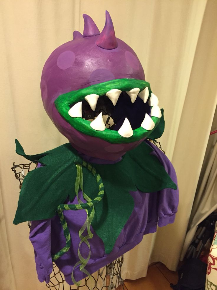 Plants Vs Zombies Chomper Costume Halloween Costumes