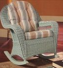 Rattan and Wicker Rockers and Swivel Glider | Rocking and Florida Chairs