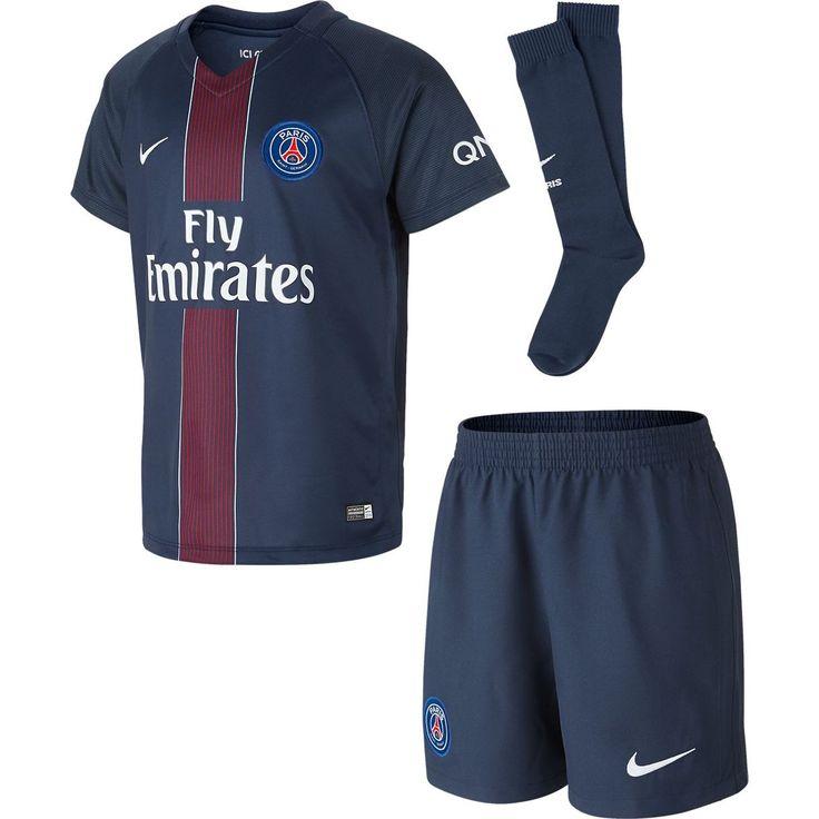2016-2017 PSG Home Nike Little Boys Mini Kit #sports #sportsshopping #sportswear