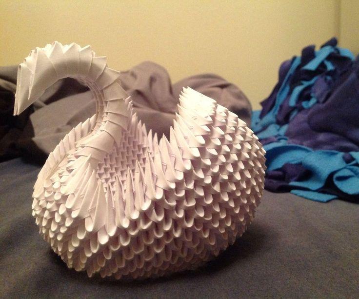 3D Modular Origami Swan                                                                                                                                                                                 More