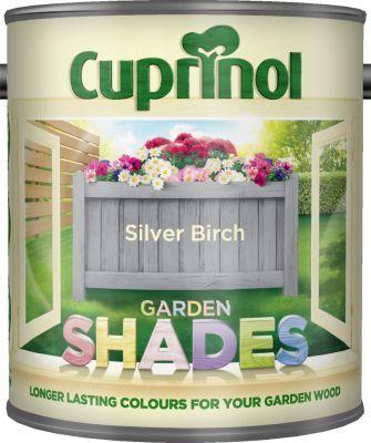 Cuprinol Garden Shades Paint Silver Birch 1L