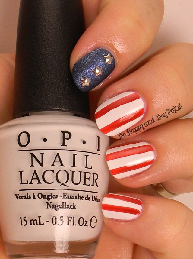 The 171 best Nail Art - 4th of July and USA Patriotic images on ...