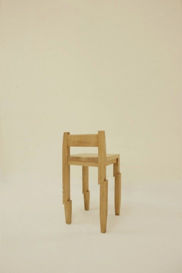 Awesome Simple And Unique Chair That Looks Like Had Been Cut By A Samurai Samourais  Chair Design Ideas