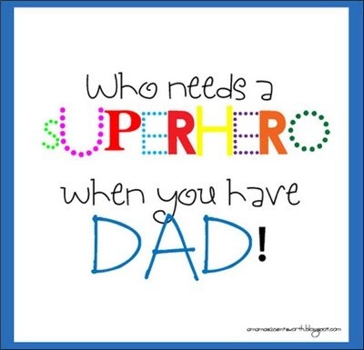 It's Written on the Wall: Father's Day  ideas