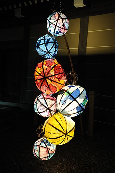 堀川会場|京都の夏の風物詩「京の七夕」Horikawa Tanabata event decoration, #Kyoto