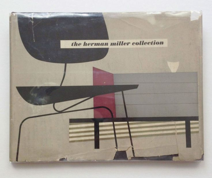 1952 original Herman Miller Collection catalogue featuring furniture designs of Charles Eames, George Nelson, Isamu Noguchi, Peter Hvidt and O.M.