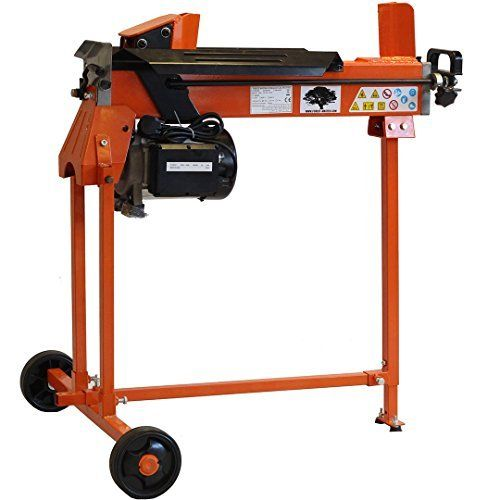 Another fine electric hydraulic log splitter from Forest Master.  The blades split the log from both ends unlike a conventional splitter Splits Logs With A Diameter Of Up To 500mm Fully adjustable cycle (with ramstop) to match log lengths for quick log splitting Powerful 2200 watt motor, energy saving which doesn't use electricity when not in cycle.
