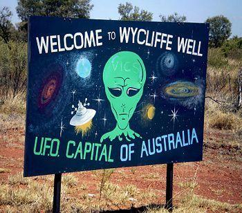 Wycliffe Well, Australia.