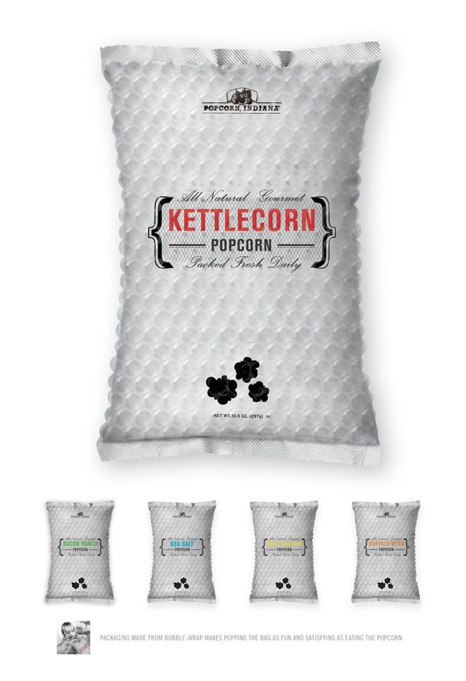 POPCORN INDIANA Bubble Package - Graphis