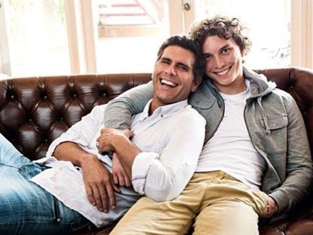 Christian Meier presentó en sociedad a su hijo mayor Stefano.