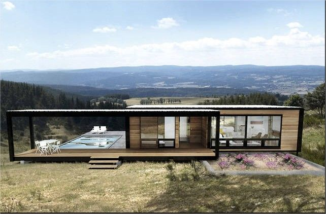 Best 25 cargo container homes ideas on pinterest for Modern prefab homes mn