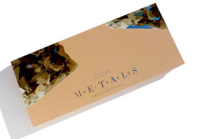 Zoeva Mixed Metals palette