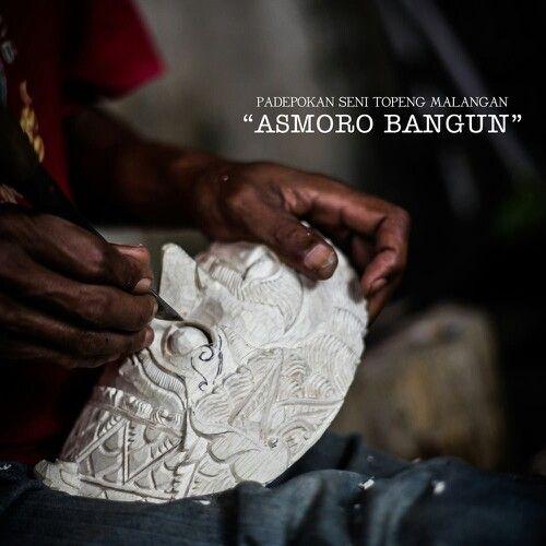 Sanggar topeng malangan Tradional culture from malang, east java, indonesia