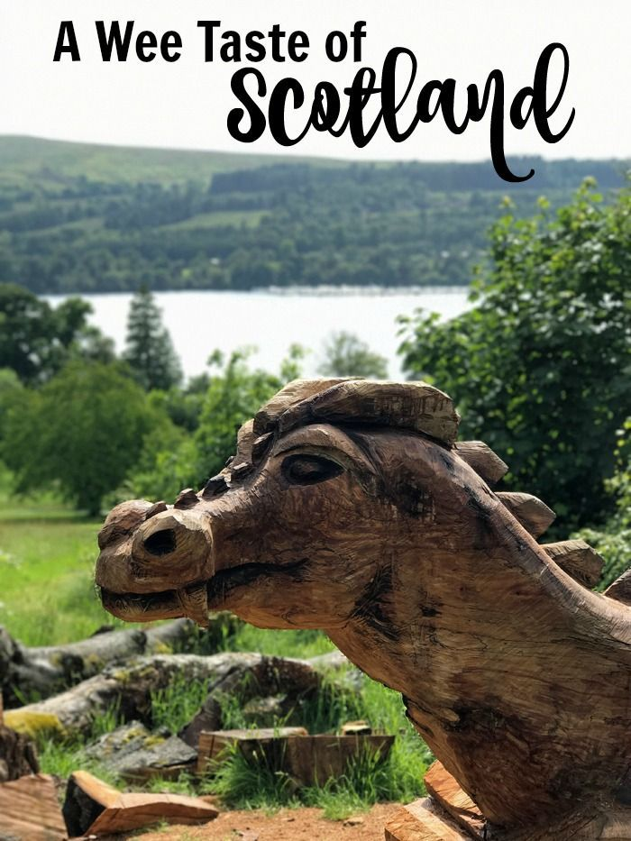A Wee Taste of Scotland | Life as Mom - We spent about five days in Scotland, all told, and our day at Loch Lomond was stellar, despite fickle weather. Our wee taste of Scotland was superb!