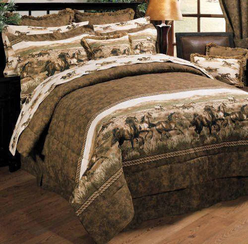 Wild Horses Comforter Set - Twin Blue Ridge Home Fashion http://www.amazon.com/dp/B00396091C/ref=cm_sw_r_pi_dp_tbLdvb0AAYYVQ