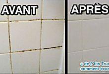 Comment Nettoyer les Joints de Carrelage avec un Nettoyant Maison.