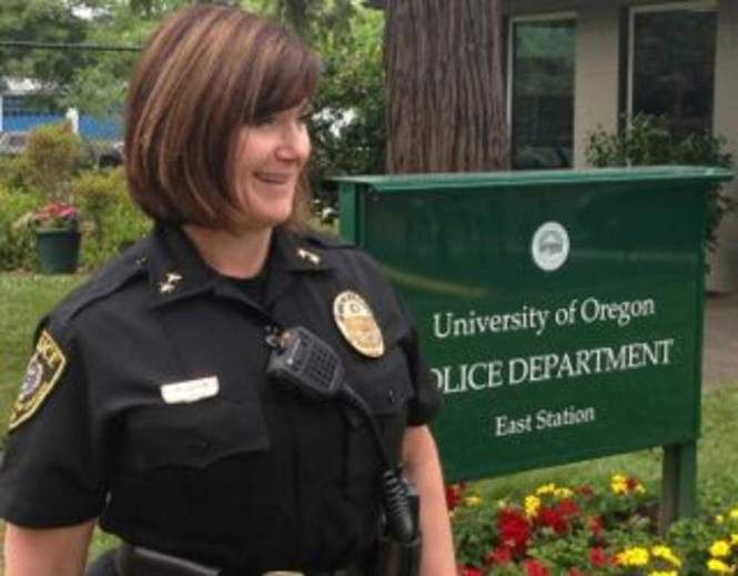 Carolyn McDermed, chief for the past four years, helped UO lose a $755,000 lawsuit by retaliating against a young officer who spoke up against department bias and ineptitude. Her own testimony in the case cast her as clueless about some serious matters in her own department and the jury determined she vindictively retaliated against the whistleblower.