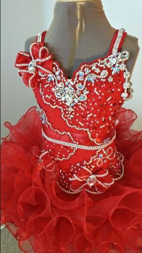 Beautiful new pageant dress design from Royalty Designs www.royaltydesigns.net