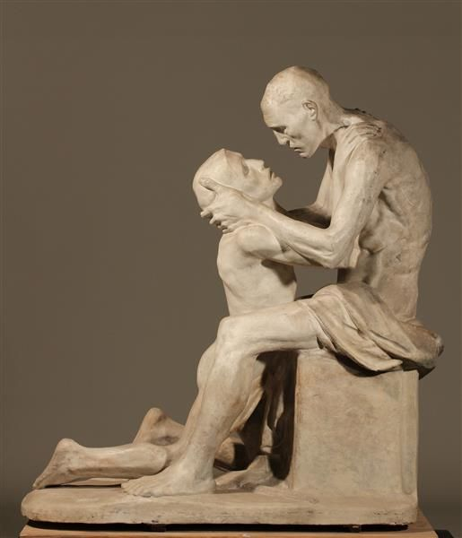 Constantin Meunier (1831-1905) - Der verlorene Sohn (1892)