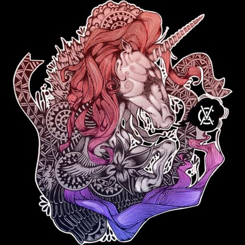 unicornio de colores. is a T Shirt designed by monsterbirdcav to illustrate your life and is available at Design By Humans