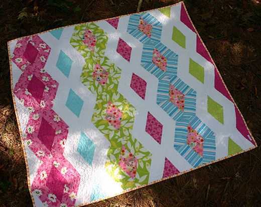 Princess Kate Diamond Quilt free Pattern