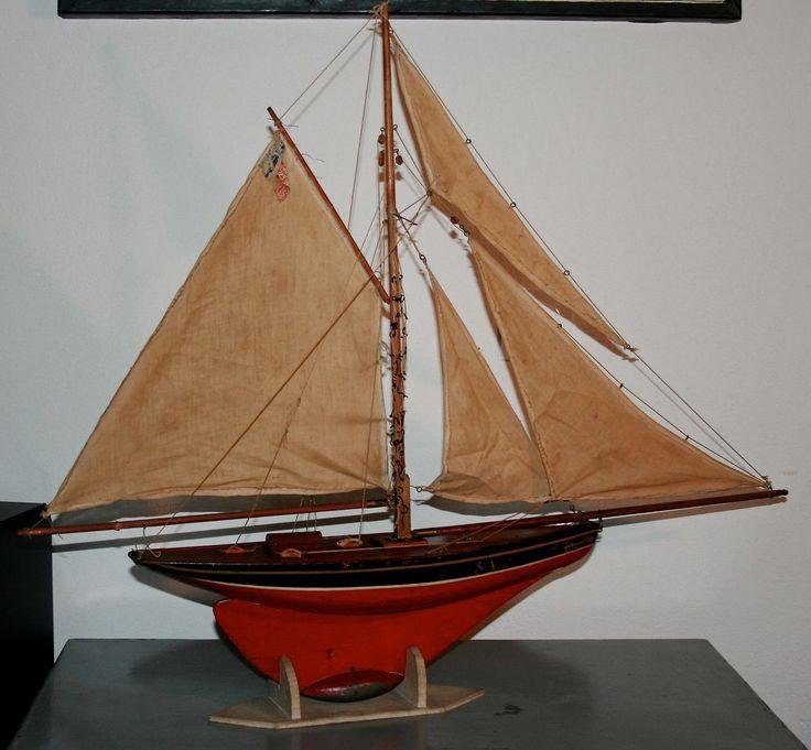 134 best images about pond yachts on pinterest antiques english and models - Voilier de bassin ancien nanterre ...
