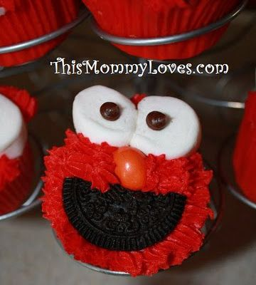 OMG, perfect for Addy's birthday!  She has requested an Elmo theme!