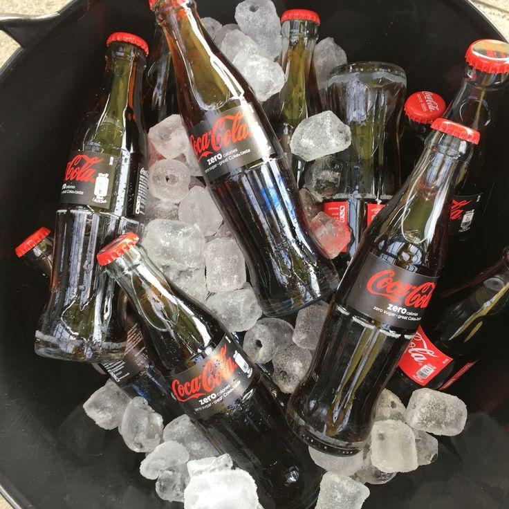 Cola Zero on ice