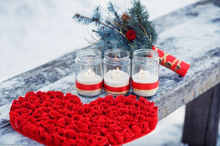 Букеты из всего на свете   Свадьбы зимой   Свадьбы в красном цвете   24 Фото идеи   Страница 5