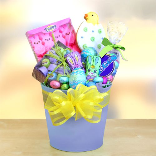 10 best wonderful gift basket delivery for usa images on pinterest perfect for your easter egg hunt this year our pastel perfection tin is a fresh easter gift basketseaster negle Images
