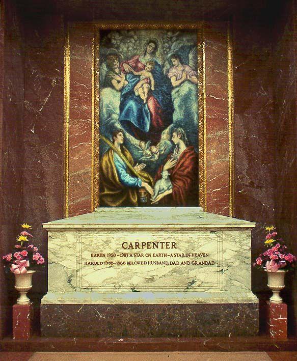 Karen Carpenter's tomb (photo 2)