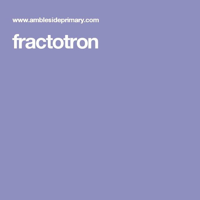 fractotron