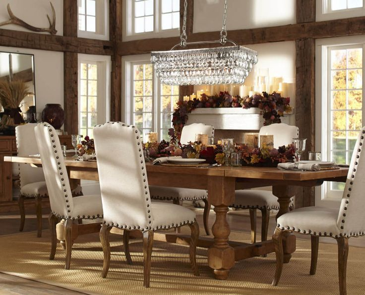 A Place To Gather Around The Table. Pottery Barn ...