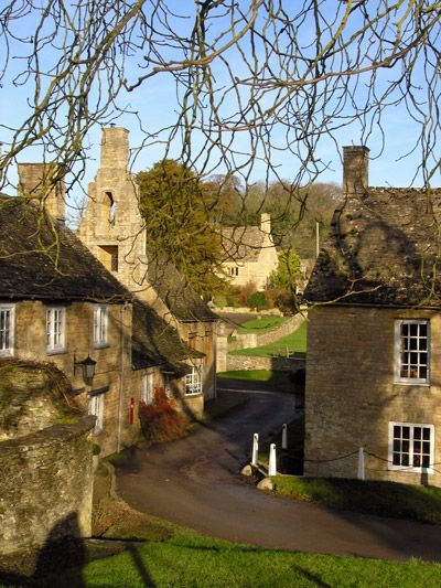 The village of Cornwell in Oxfordshire, England