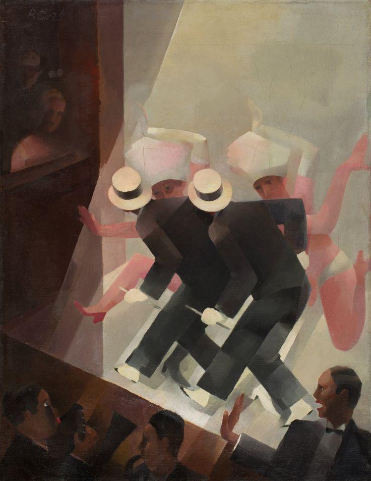 Varieté, 1925 by Paul Grunwaldt (German, 1891-1962)  | Öl auf Leinwand, 59 x 46,5 cm | Ephraim-Palais | Stadtmuseum Berlin