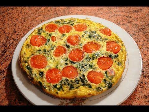 Najlepszy omlet z szynką i pomidorami