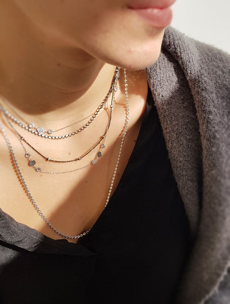 LAYER NECKLACES!! #fashion #shopping #jewelry #love #goldjewelry #layernecklace