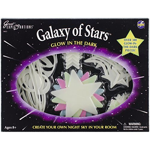 Features. University Games-Galaxy Of Stars Kit Transform your ceiling or wall into a universe complete with glowing galaxies and dazzling constella...