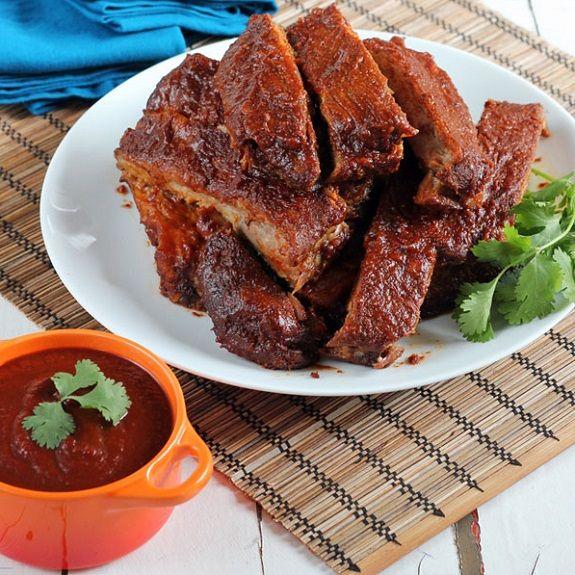 Baked Bbq Ribs With Dry Rub Bbq Sauce Recipe: Pork, Spare Ribs, Pork