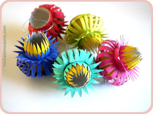 tp roll thistleThistles Ornaments, Ornaments Tutorials, Crafts Ideas, Paper Rolls, Rolls Thistles, Paper Flower, Tp Rolls, Toilets Paper, Paper Thistles