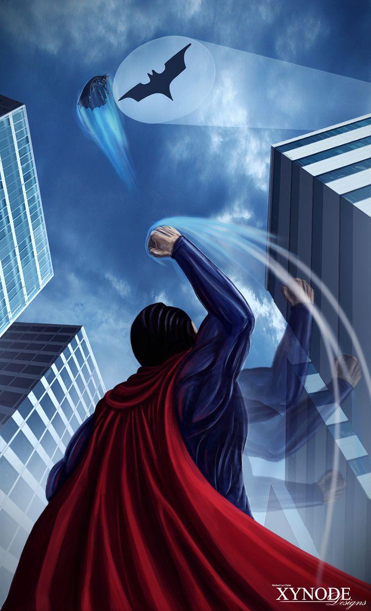 Batman Vs Superman: fan art
