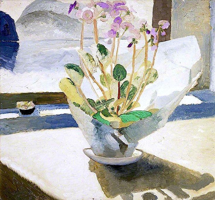 'Primulas' - Winifred Nicholson (1893–1981)