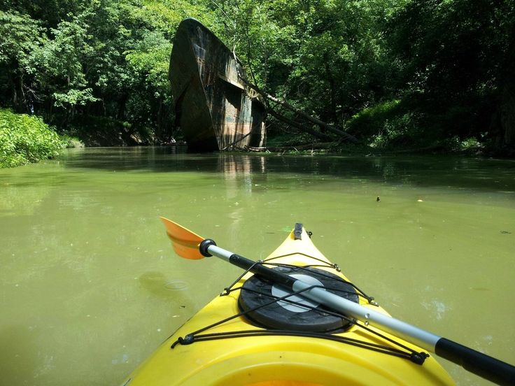 110 year old ghost ship on the Ohio River in Lawerenceburg, Indiana.