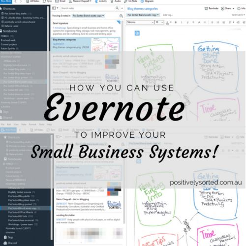 Using Evernote to improve your business