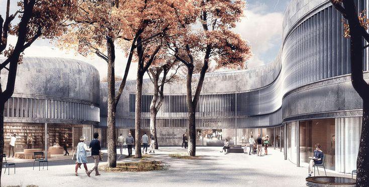 Herzog & de Meuron vence concurso para o novo edifício da Neue Galerie em Berlim | ArchDaily Brasil